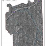 Aerial Map of Leroy Township