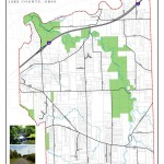 Map of protected lands in LeRoy Township